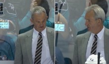 Sharks Fans Troll Darryl Sutter and the Kings With Epic Use of Technology (Pics + Video)