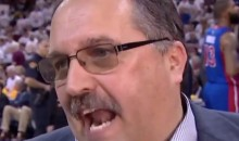 "Stan Van Gundy Says Refs Let LeBron ""Do What He Wants"" During In-Game Interview (Videos)"