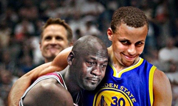 Steph Curry Crying Jordan