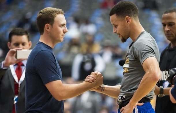 Steph Curry Jordan Spieth Under Armour Masters Meltdown