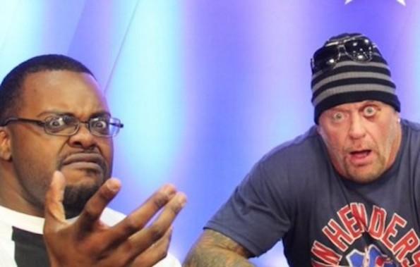 Undertaker and Shocked Undertaker Guy