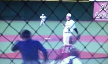 High School Pitcher Casually Barehands a Screaming Line Drive (Video)