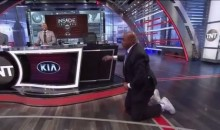 Here's Charles Barkley Doing Yoga, If Your Mind and Eyes Can Handle It (Video)