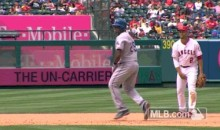 Adrian Beltre Shows Off Some Hilarious Dance Moves on the Base Path (Video)