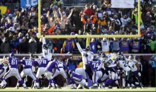April Fools Prank Involves Vikings' Blair Walsh Converting Game-Winning FG vs. Seahawks (Video)