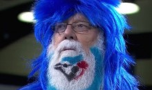 Old Dude (Possibly Santa) Has Sweet Blue Jays Beard (Pic + GIF)