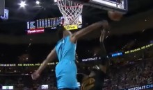 Courtney Lee Chases Down LeBron James, Surprises Him with a Monster Block (Video)