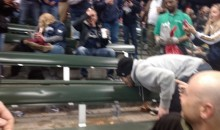 Watch These Disgusting Baseball Fans Do Unspeakable Things Involving Puke and Butts (Video)
