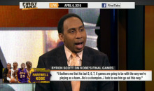 Stephen A. Smith: Lakers Organization Should Be Arrested For Stealing Money From Fans (Video)