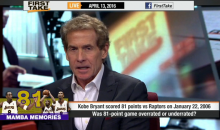 Skip Bayless: Kobe's 81-Point Game Was 'A Little Overrated' (Video)