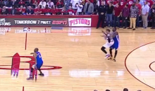 Draymond Green Tackles Michael Beasley At The End Of Warriors-Rockets Game (Video)