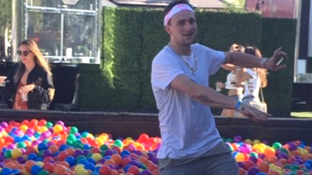 drew rosenhaus drops johnny manziel coachella ball pit