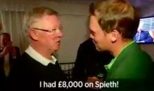Danny Willett's Masters Win Cost Sir Alex Ferguson $11K (Video)