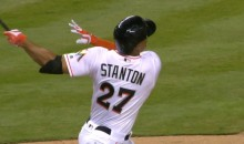 Giancarlo Stanton Launches Moonshot Off Justin Verlander, Picking Up Right Where He Left Off  (Video)