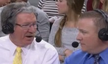 Golden State Broadcaster Calls Out 'Jerk Off' Spurs Fans for Interrupting Broadcast (Video)