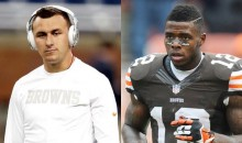 Manziel Gets Picked Up By Josh Gordon After Fleeing Hit And Run Accident In LA
