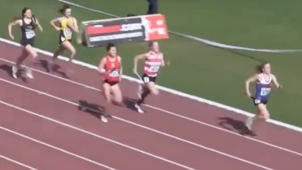 irish track and field commentator goes nuts 4x400 relay