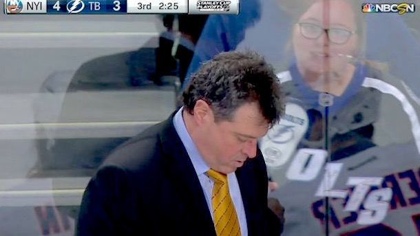 jack capuano puck to the face