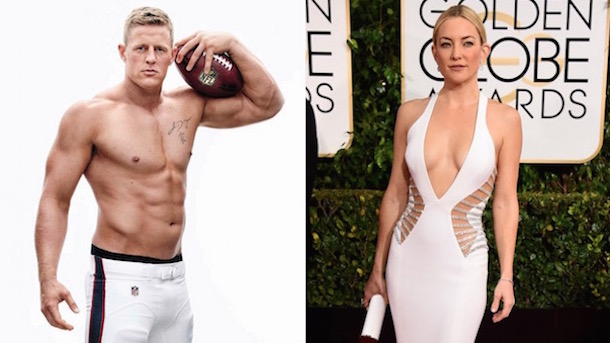jj watt dating kate hudson