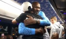 MJ Congratulates Iverson on His HOF Nod During Bus Ride Back From NCAA Championship (Video)
