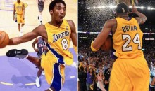 Lakers Will Have No. 8 and No. 24 on the Court for Kobe's Last Game (Pic)