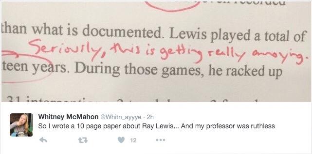 liberty university professor ray lewis essay 4
