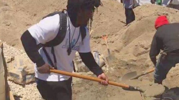 marshawn lynch building a school in haiti