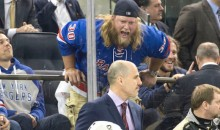 Jets Center Nick Mangold Heckled the Penguins So Hard, Security Had to Tell Him to Cool It (Pic)