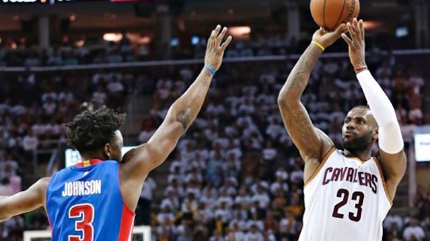 pistons rookie stanley johnson on lebron i'm definitely in his head