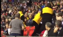Vancouver Whitecaps Fan Throws Popcorn at a Player, Fights Security (Video)