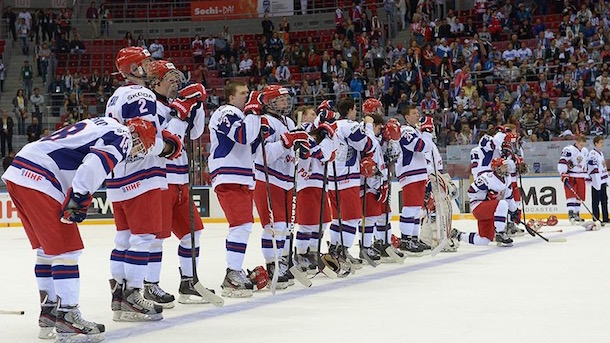 russian u18 hockey team