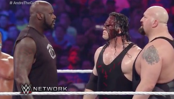 shaq wrestlemania 32 battle royale shaqnosis big show kane