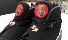 Sneakerheads Made Some Custom Crying Air Jordan 8′s (Pics)