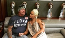 Here's The Undertaker Chilling with Wife Michelle McCool and a Bunch of Lombardi Trophies in Jerry Jones Office (Pics)