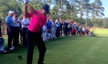 Tiger Woods Plays First Holes Since Last August to Christen His New Golf Course (Video)
