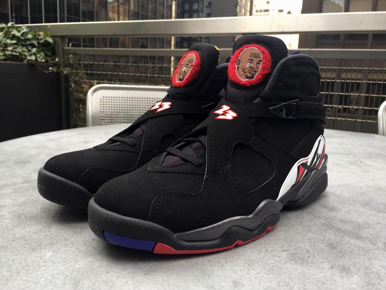 0613a04f115e8f Sneakerheads Made Some Custom Crying Air Jordan 8 s (Pics)