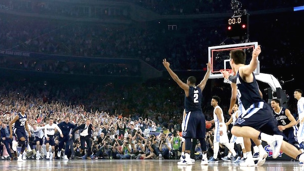 villanova announcers call of kris jenkins buzzer-beater