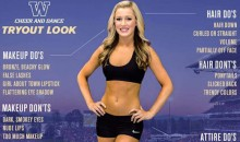 University of Washington Cheerleading Under Fire for Poster Describing Physical Appearance of Ideal Cheerleader (Pic)