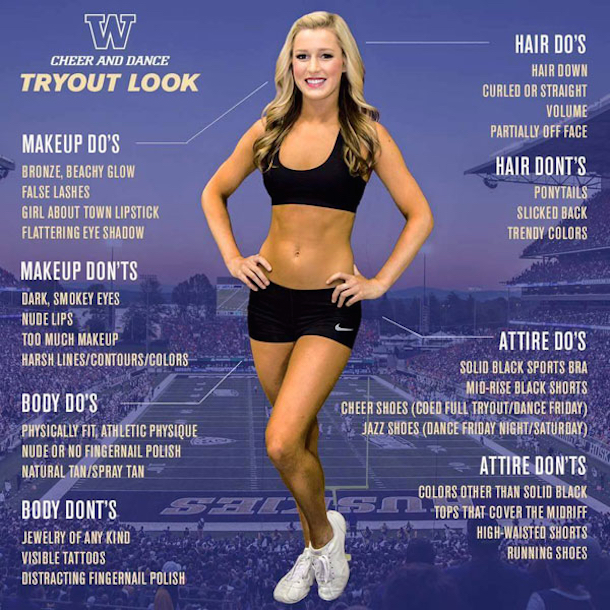 washington cheerleading tryout dos and donts copy