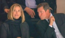 Wayne Gretzky Denied Smooch from Wife on Camera at Caps-Flyers Game (Video)