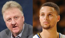 Larry Bird Not So Sure His Era Is The Greatest Anymore After Watching Steph Curry & Others