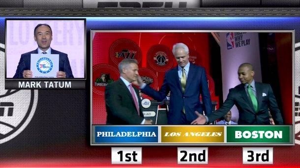 2016 nba draft lottery philadelphia 76ers