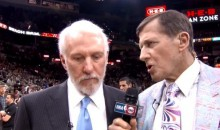 Craig Sager Worked Thunder-Spurs Game 5, Despite Being in the Middle of Chemo