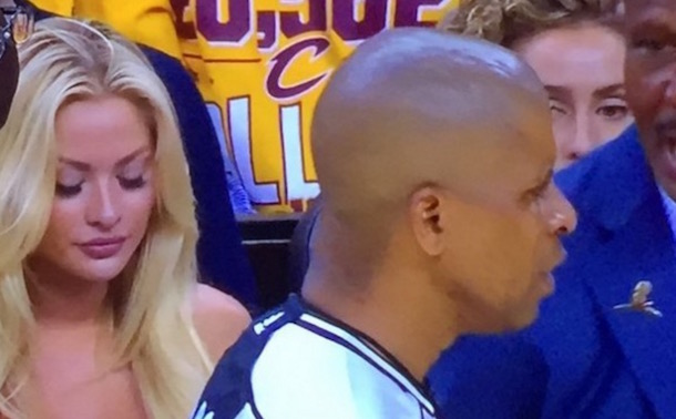 Blonde Cavs Fan