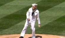 World War II Veteran Throws Out First Pitch at Mariners Game on Memorial Day (Video)