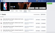 NBA's Official Facebook Page Posts Warriors In Finals Against The Cavaliers, Quickly Deletes