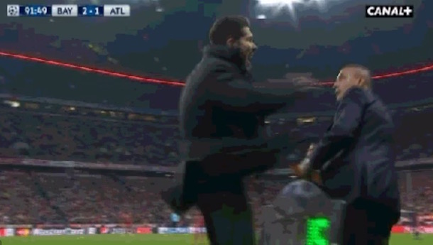 Diego Simeone Smack Official