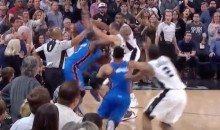 Thunder Beat Spurs Thanks to Crucial Non-Call By Refs (Videos)