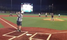 Drew Brees Launches Homer at Saints Charity Softball Game (Video)