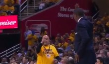 Raptors Coach Dwane Casey Gets Into Argument With Cavs Fan (Video)